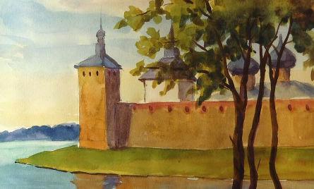 Башня Кирилловского монастыря