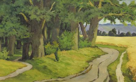 Дорога к родному селу