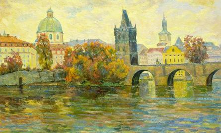 Злата Прага. Карлов мост