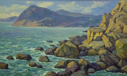 Большая Балка. Каменистый берег